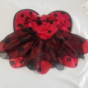 NWOT Halloween Lady Bug Outfit
